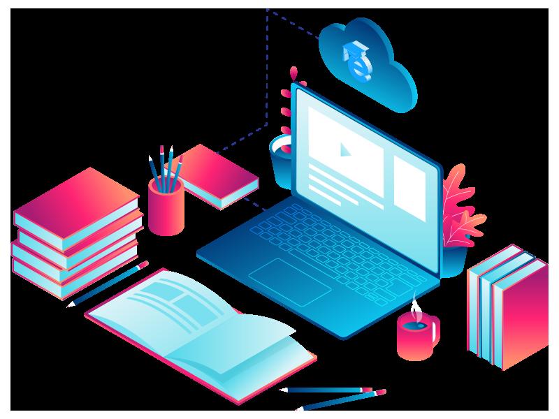 Giải pháp dạy học trực tuyến - Tạo website dạy học trực tuyến chỉ 5 phút