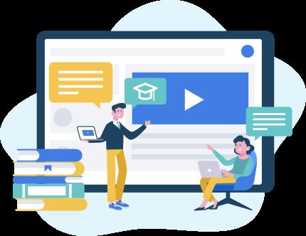 Dạy học trực tuyến qua video